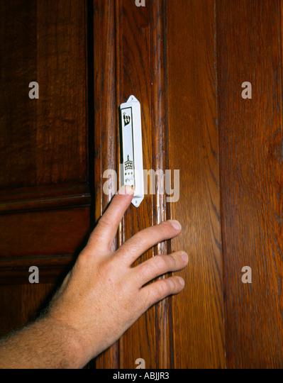 Touching Mezuzah On Door - Stock Image & Mezuzah Stock Photos \u0026 Mezuzah Stock Images - Alamy