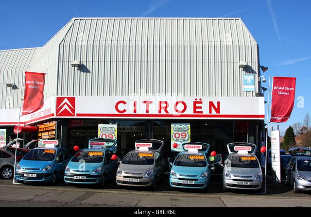 Bristol motors stock photos bristol motors stock images for Motor city car dealership