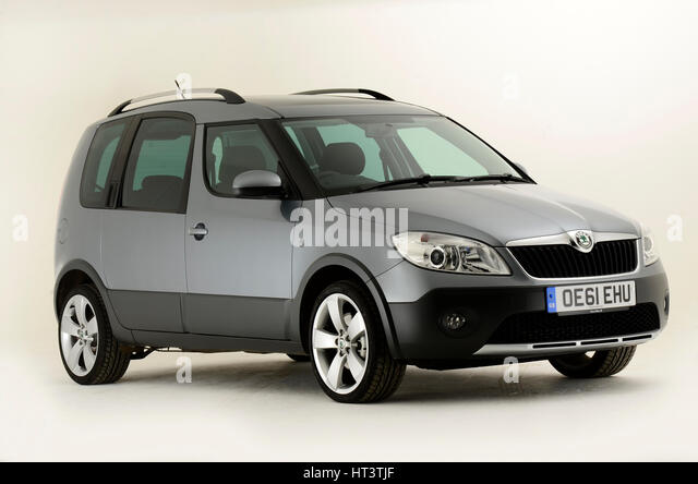 skoda roomster stock photos skoda roomster stock images alamy. Black Bedroom Furniture Sets. Home Design Ideas