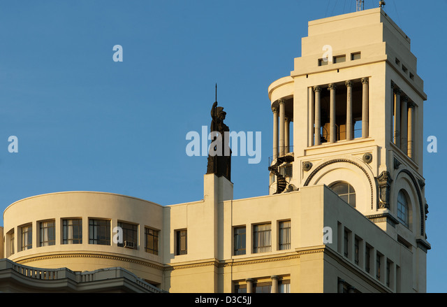 Art nouveau madrid stock photos art nouveau madrid stock - Art deco espana ...