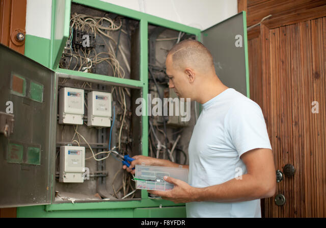 Fuse Box Electric Power Stock Photos & Fuse Box Electric Power ...