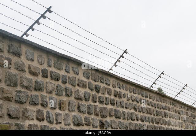 Mauthausen Memorial Concentration Camp In Stock Photos & Mauthausen ...