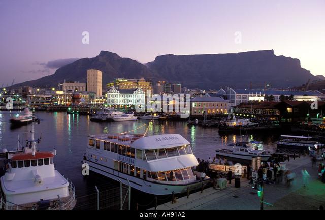 Cape Town Harbour Dusk Stock Photos Cape Town Harbour Dusk Stock Images