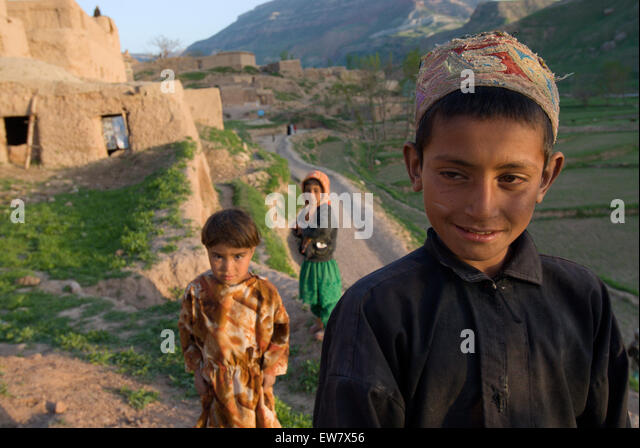 Tajik boys and girls