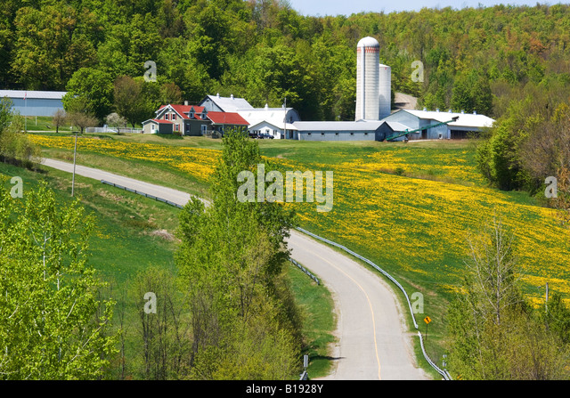 Canada Quebec Province Eastern Townships Stock Photos Canada - 7 things to see and do in quebecs eastern townships