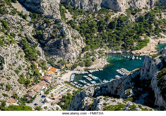 Calanques stock photos calanques stock images alamy for Rhone marseille