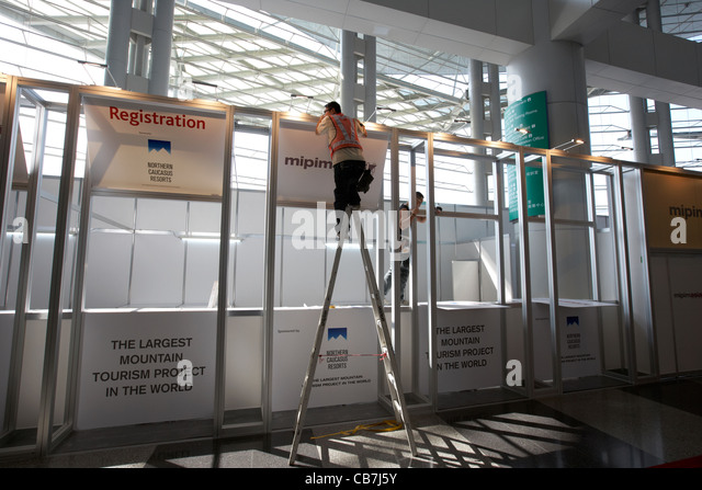 Exhibition Stand Hong Kong : Exhibition stand building stock photos