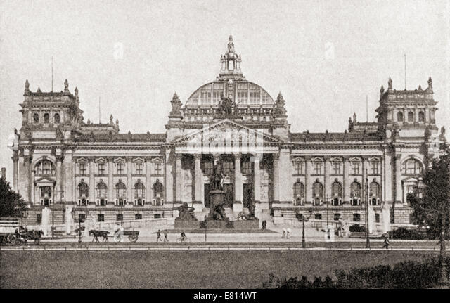 history of the reichstag The building was opened in the year 1894, and resided the reichstag until 1933 when marinus van der lubbe, a dutch communist, set the building on fire the building was severely damaged and was in ruins until reunification of germany.