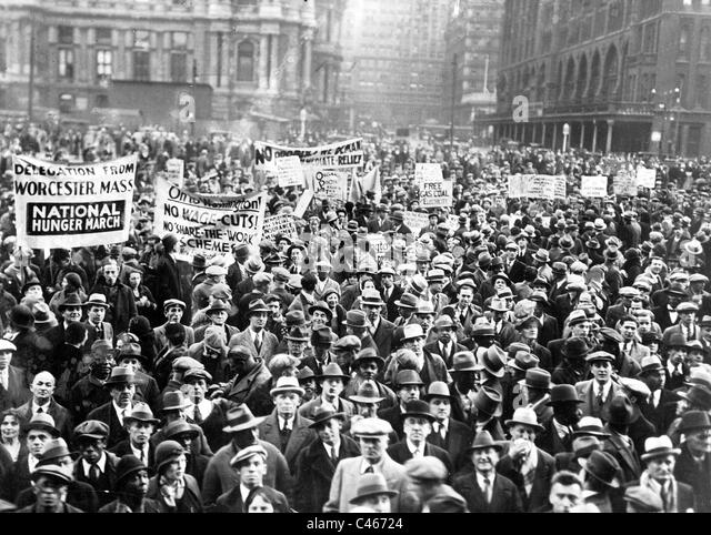 How the great depression of 1929 influenced USA and contemporary ...