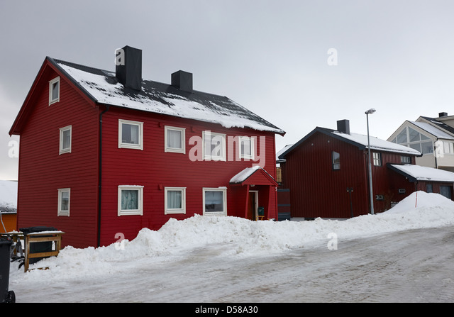 Traditional norwegian style stock photos traditional for Norway wooden houses