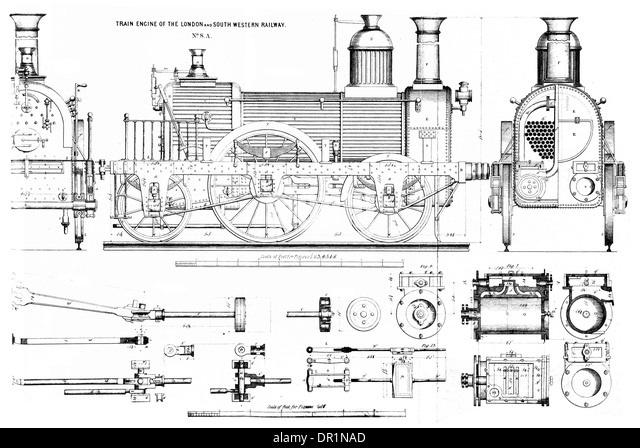 steam locomotive 1880 stock photos steam locomotive 1880 stock train engine of the london and south western railway no 8a circa 1860 stock image