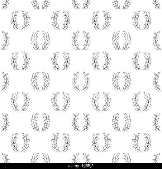 Bay leaf crown stock photos bay leaf crown stock images for Laurel leaf crown template