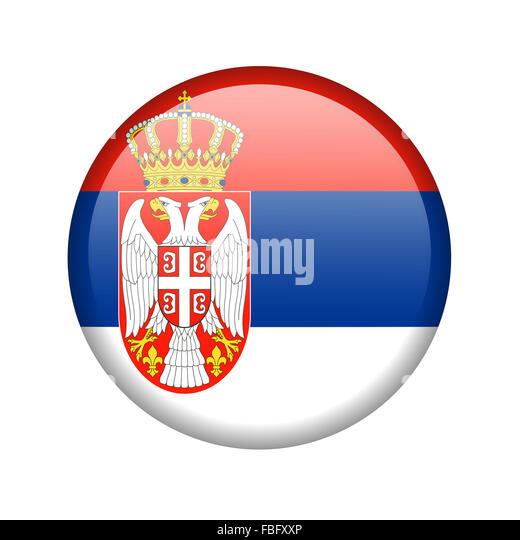 Serbian orthodox church flag