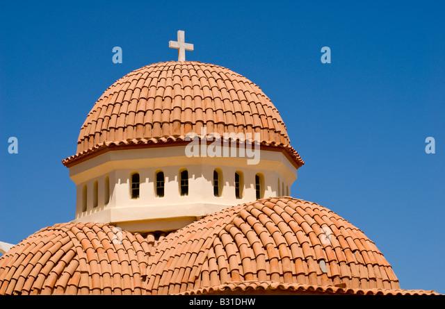Greek Orthodox Church Rethymnon Stock Photos & Greek ...