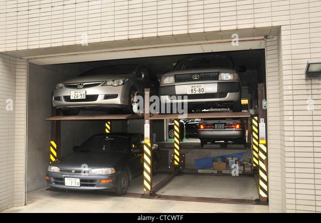 Car Parking Lift Stock Photos Car Parking Lift Stock Images Alamy