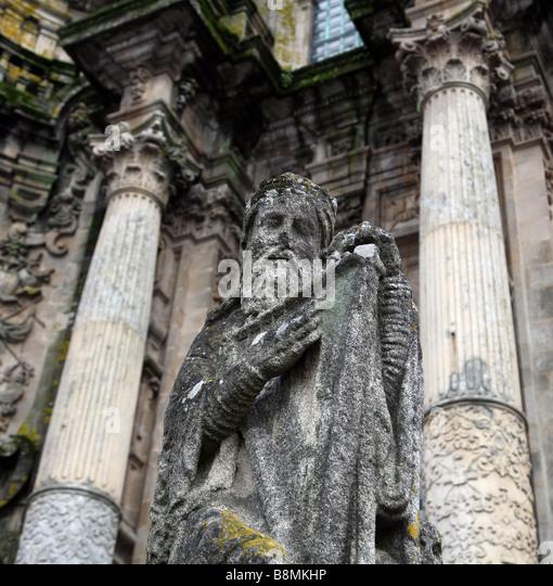 Statue santiago de compostela stock photos statue - Interior santiago de compostela ...