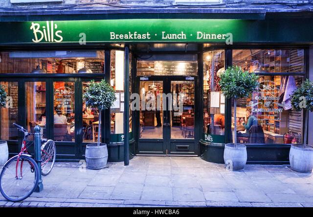 Bill S Cafe Lewes Menu