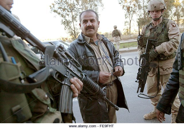 Abn Honour Killings In Islam: Paratroopers Iraq Stock Photos & Paratroopers Iraq Stock