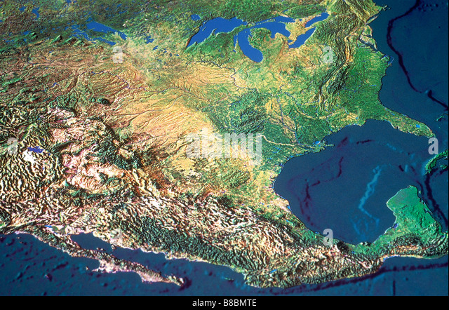 Map Of Mexico Stock Photos Map Of Mexico Stock Images Alamy - Map of usa mexico