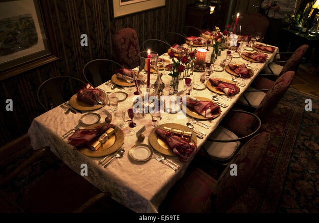 Usa Christmas Dinner Stock Photos & Usa Christmas Dinner Stock ...