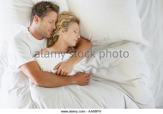 Cuddling Bed Stock Pho...
