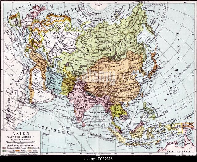 Map Stock Photos Map Stock Images Alamy - Map of the us in 1890