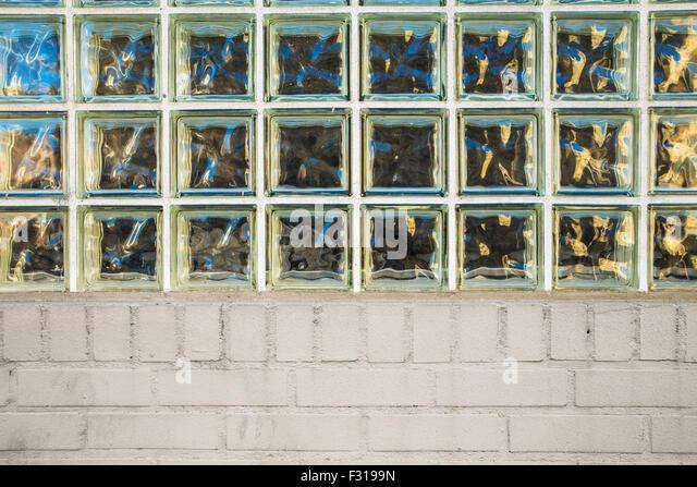 Glass Brick Wall Stock Photos Glass Brick Wall Stock