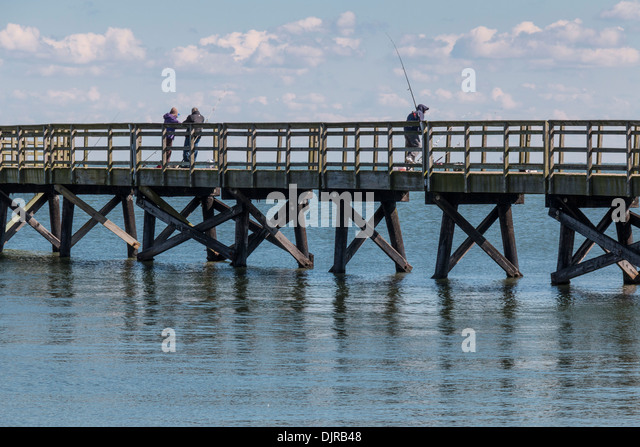 Yorktown national park stock photos yorktown national for Fishing piers in va