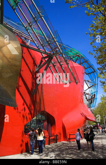 Experience Music Project And Science Fiction Museum And Hall Of Fame;  Seattle Center, Seattle