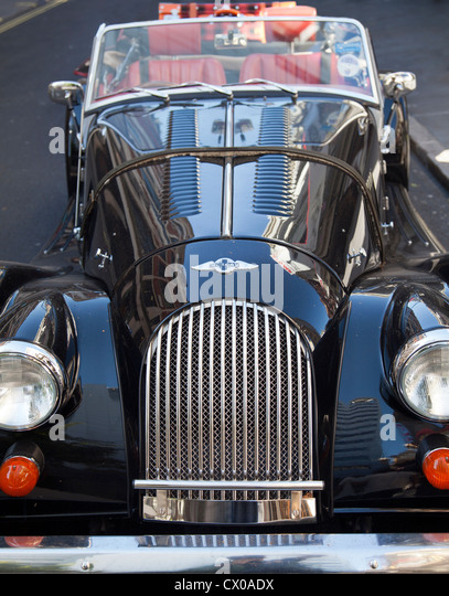 Black Car In Soho London Stock Photos Black Car In Soho London