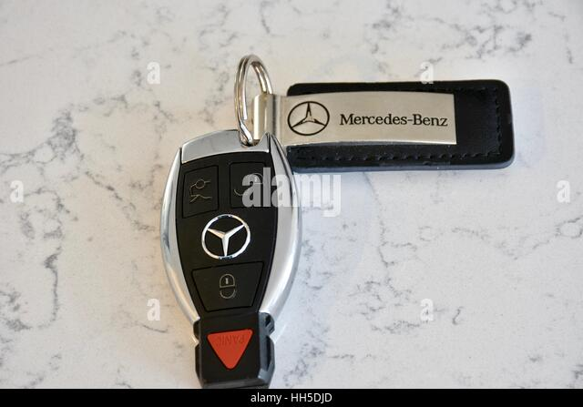 Car key mercedes stock photos car key mercedes stock for Mercedes benz key fob
