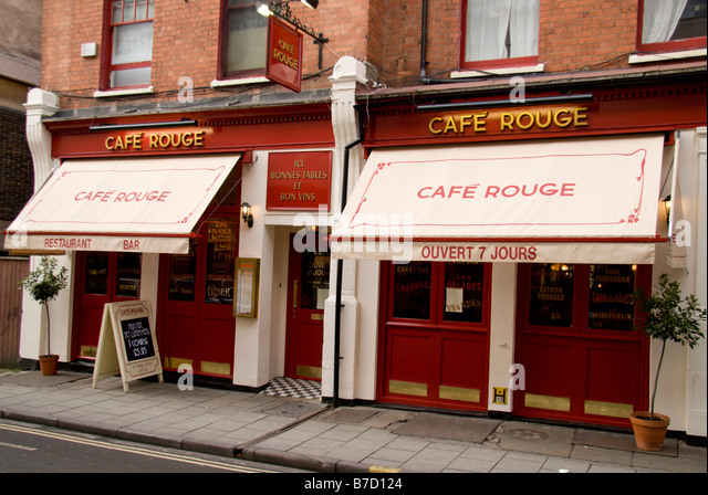 Cafe Rouge Oxford Little Clarendon Street