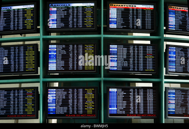 Arrival And Departure Displays Stock Photos Amp Arrival And