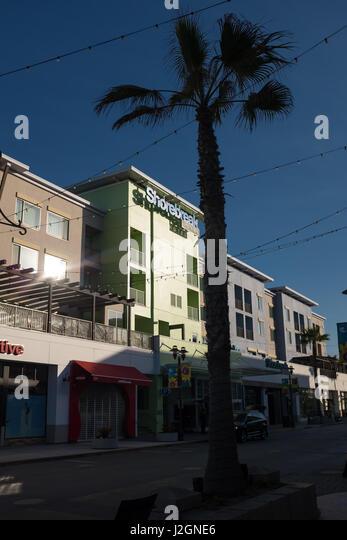 shorebreak hotel huntington beach stock photos. Black Bedroom Furniture Sets. Home Design Ideas