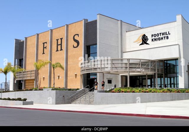 foothill high school stock photos amp foothill high school