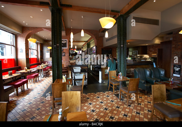 The Kitchen Bar Belfast City Centre Northern Ireland Uk   Stock Image