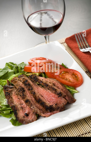 how to cut flank steak slices