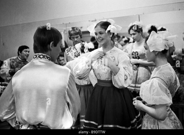Amateur folk dance ensemble