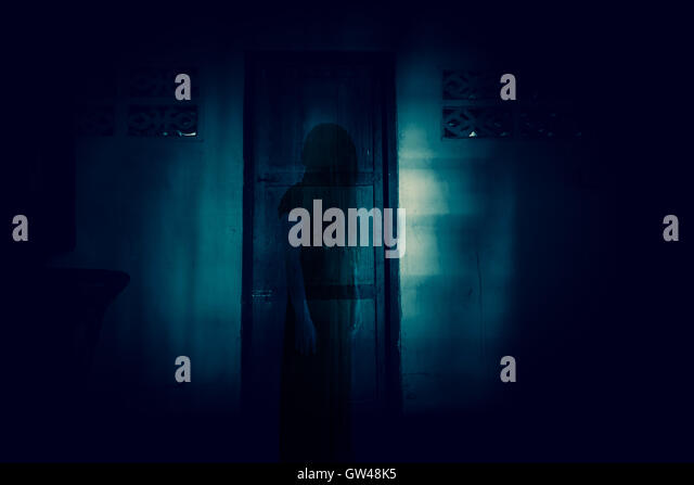 Ghost and door and woman stock photos ghost and door and for 13 door haunted house
