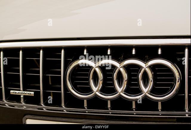 Audi Car Symbol Stock Photos Audi Car Symbol Stock Images Alamy - Audi car maker
