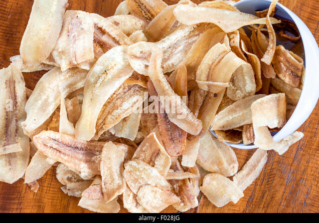 how to make banana chips crispy