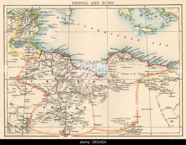 Vector Map Libya Stock Photos Vector Map Libya Stock Images Alamy
