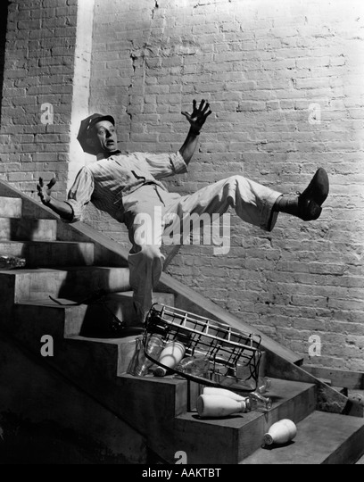 Falling Down Stairs Stock Photos Amp Falling Down Stairs