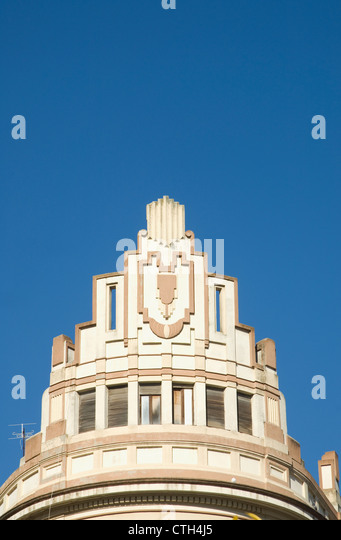 Spain 1930s stock photos spain 1930s stock images alamy - Art deco espana ...