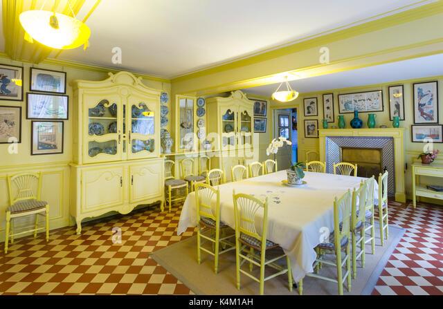 France, Eure (27), Giverny, Maison Du Peintre Claude Monet, La
