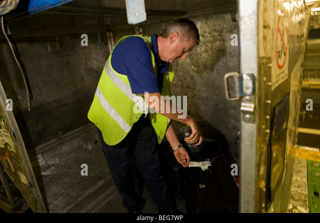 Airport Baggage Handling Scan : Airport scan stock photos images alamy