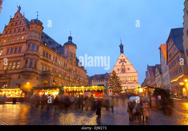 Rothenburg Christmas Market Stock Photos & Rothenburg Christmas ...