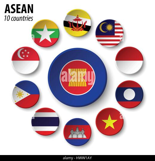 asean association of southeast asian nationsmotto An organization of 10 countries in southeast asia set up to promote cultural,  economic and political development in the region.