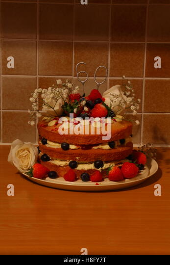 Soft Fruit Cake Stock Photos Soft Fruit Cake Stock Images Alamy