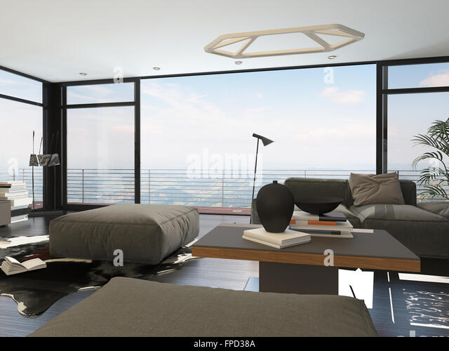 High Rise Apartment Inside